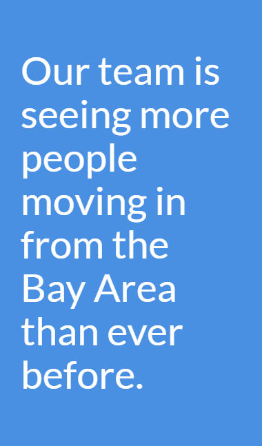 People Moving to Oregon from Bay Area Quote
