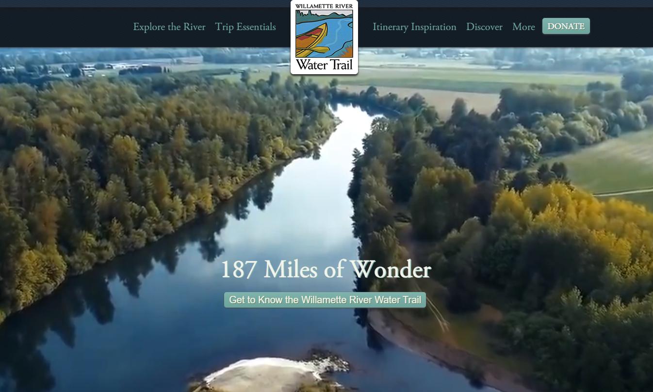 willamette river water trail in west linn oregon